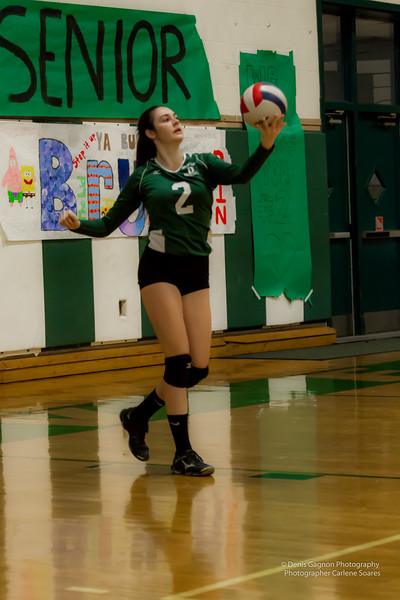 DHS Volleyball SN Night 102116