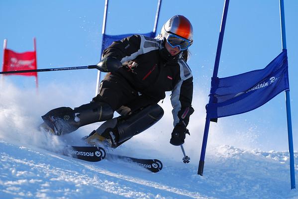 2008 On-snow training