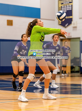 9/9/2019 - Girls Varsity Volleyball - Boston Latin vs Needham