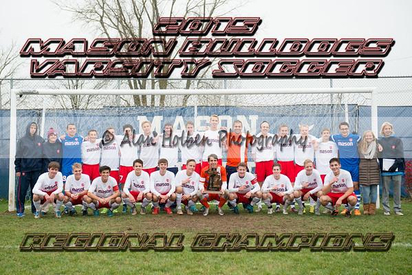 Varsity Soccer Regional - Mason vs Dearborn