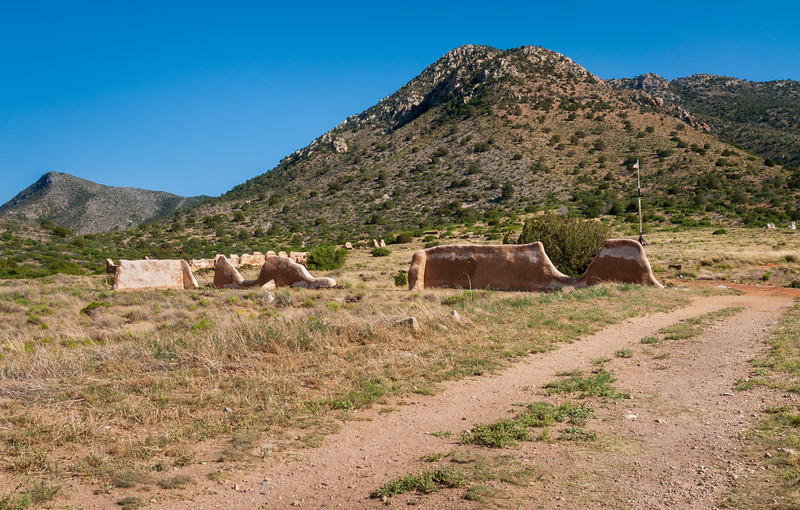 Adobe Ruins at Fort Bowie National Historic Site