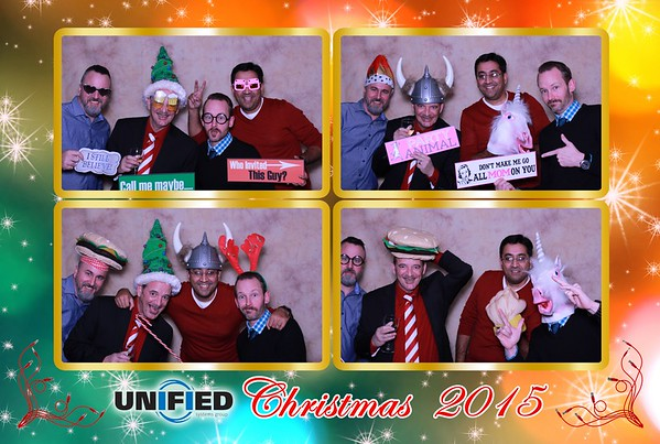 Unified Systems Group Christmas Celebration 2015
