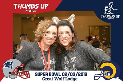 Thumbs Up Super Bowl Party-2/3/2019