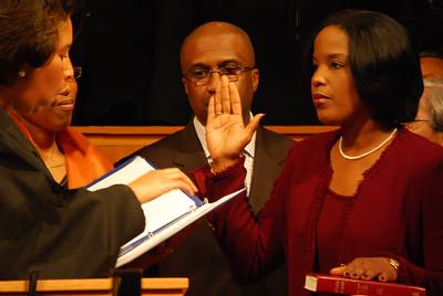 Roslyn Brock - Swearing in as Chairman of the National Board of Directors NAACP