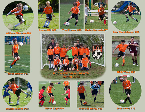U10 Wildcats spring 2012