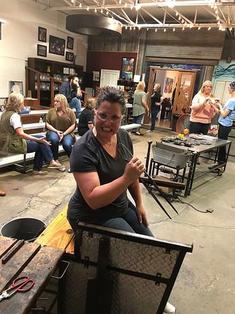 2018 Board Retreat Dallas Art Glass