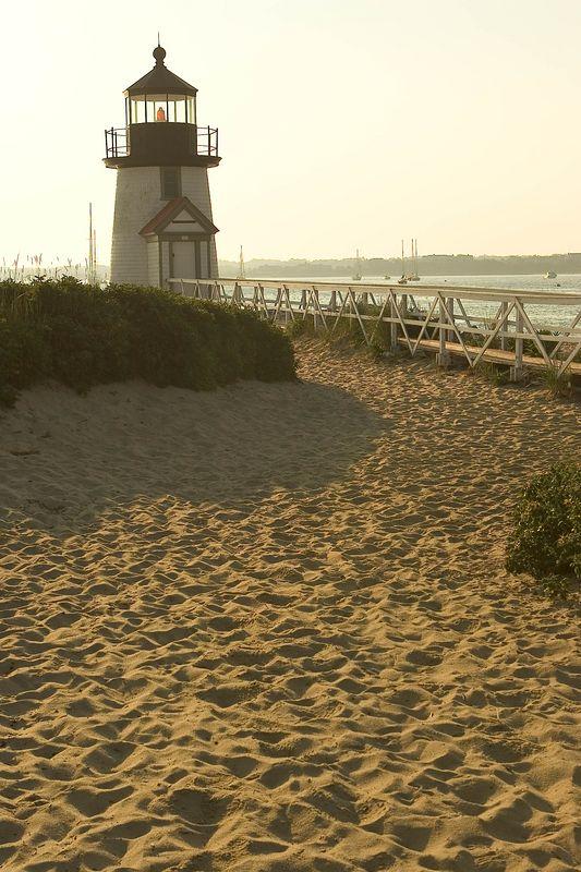 Nantucket Harbor Light House