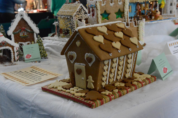 Gingerbread House Festival for The Family Place