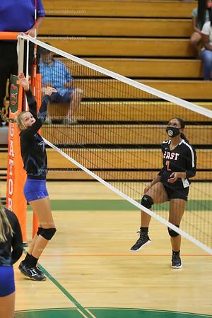 East Bladen vs East Columbus 8/30/21 volleyball