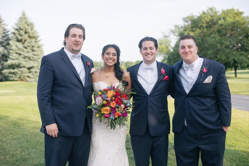 LeCapeWeddings Chicago Photographer - Renu and Ryan - Hilton Oakbrook Hills Indian Wedding -  842.jpg