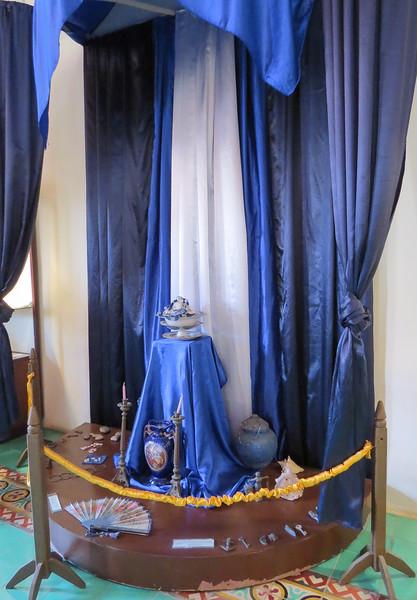 Santeria shrine.
