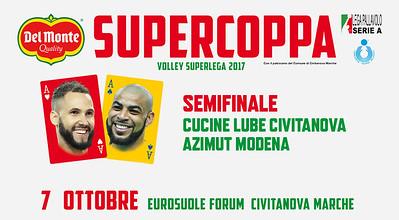 Semifinale «Cucine Lube Civitanova - Azimut Modena»