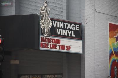 MATISYAHU live at Vintage Vinyl 8-16-2012