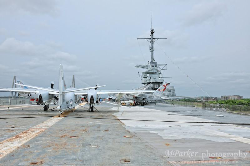 Flight Deck - USS Yorktown