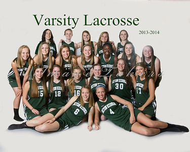 2013-2014 Varsity Lax Players