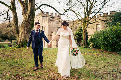 Ciara and Kristian Clearwell Castle Wedding