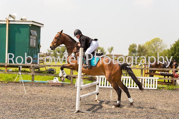 Kirsty Adams riding Lady Victoria
