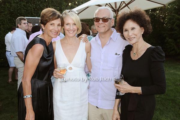 E J Camp, Jeanne Gordon,Len Fogge, Lana Jokel  photo by Rob Rich © 2010 robwayne1@aol.com 516-676-3939