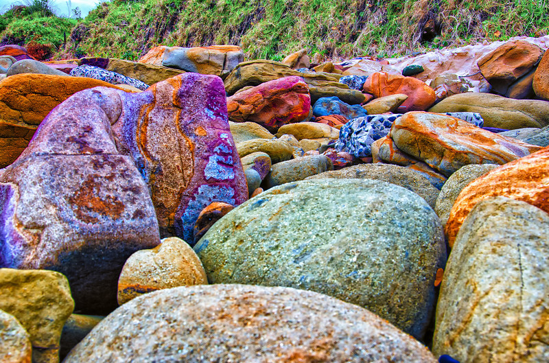 Rocks on the beach