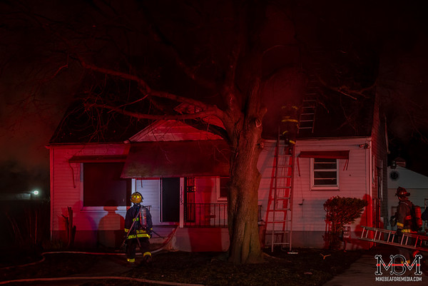 Detroit MI, House Fire 4-15-2020