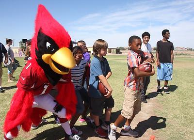 Cardinal Football Camp, Sequoia Charter School