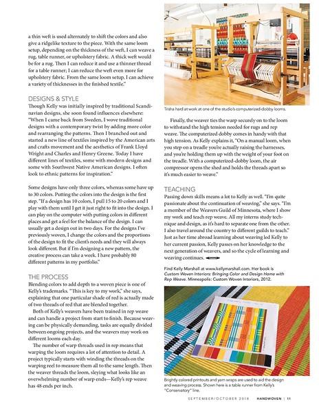 Handwoven Magazine - Sept/Oct 2018 issue