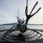 The Sun Voyager at the Harbour in Reykjavik, Iceland