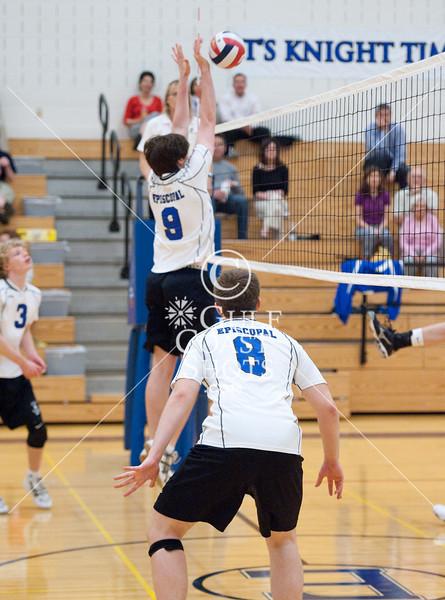 2010-10-07 Volleyball Varsity Boys SJS @ EHS