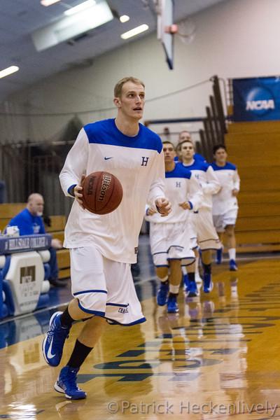 2012-11-29 Hillsdale College Men's Basketball vs. Northwood