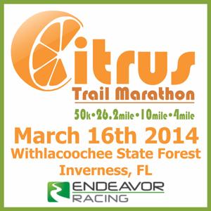 2014.03.16 Citrus Trail Marathon