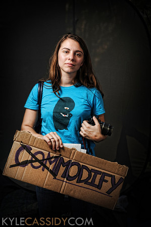 Occupy Wall Street Studio Portraits