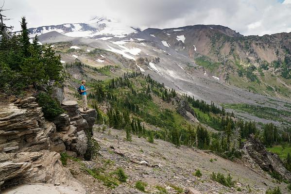 2014-08-23 Mt Adams Hike