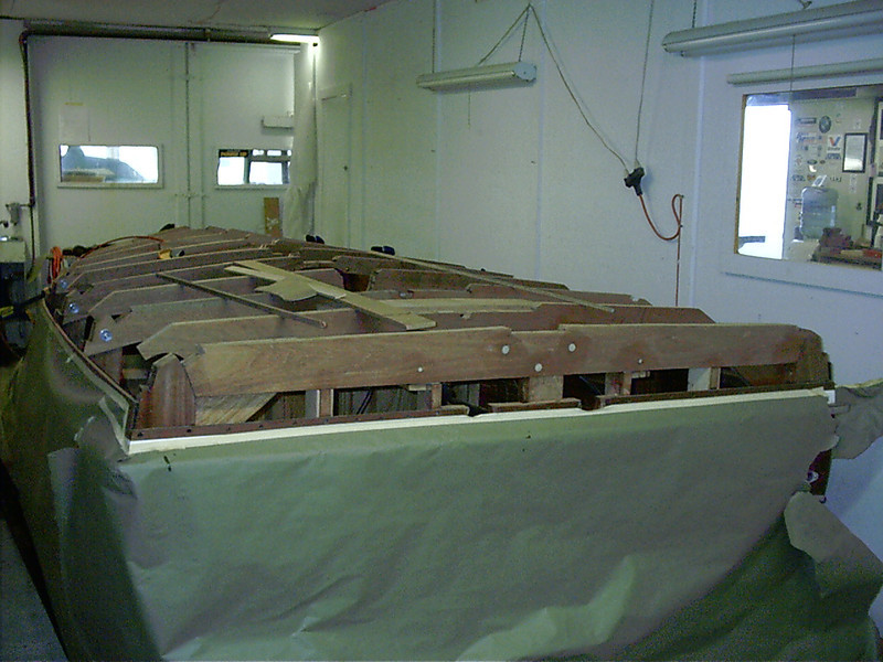 Starboard rear view.