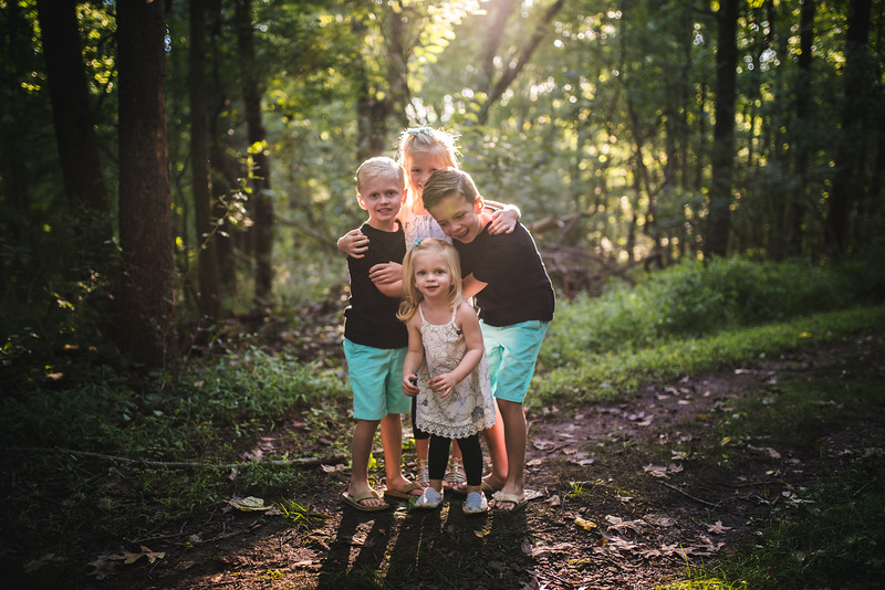 Fisher Family   Fun with Siblings   Evansburg State Park