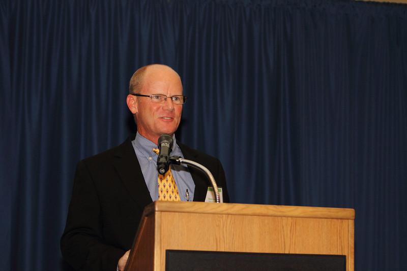 Steve Jenkins, EPB Chair, opened the Symposium.