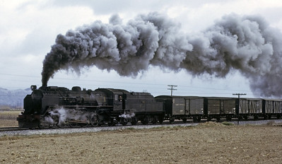 RENFE steam, 1973