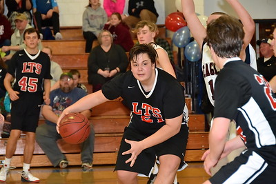 LTS Boys JV Basketball vs Arlington photos by Gary Baker