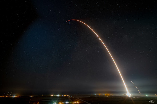 9. CRS17 Falcon9 by SpaceX 5/4/19
