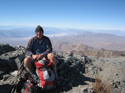 Telescope Peak from Shorty's Well 10-06-2007