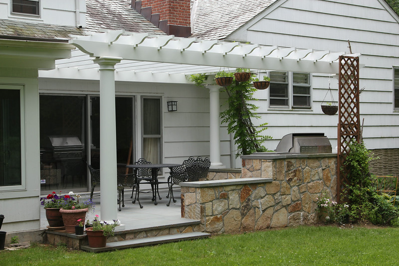 177 - 403086 - Scarsdale NY -  Attached Pergola
