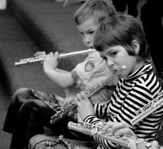 Portraits. Musical Children