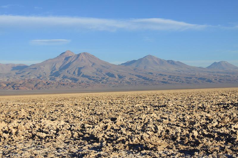 Salar De Atacama- salt flats