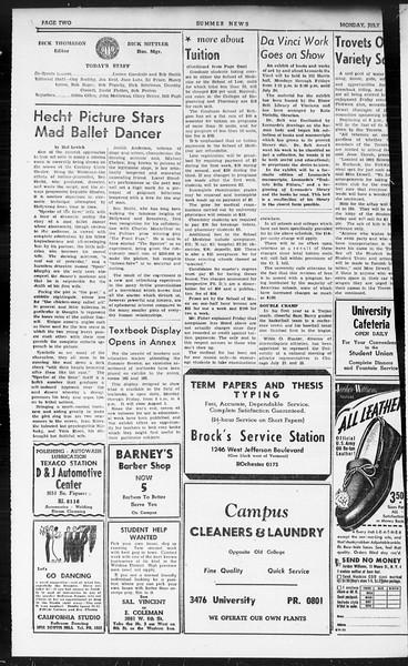 Summer News, Vol. 1, No. 9, July 15, 1946