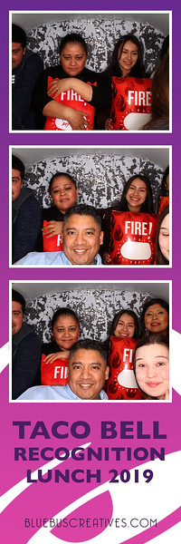 Congrats to all the Taco Bell staff that was recognized at this year's appreciation luncheon!  We had such a fun time snapping pics and celebrating with you all.   If you would like the PhotoSwagon at your next event, learn more at www.bluebuscreatives.com!