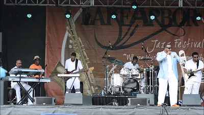 2015 Lake Arbor Jazz Festival - Jeff Bradshaw - July 11, 2015