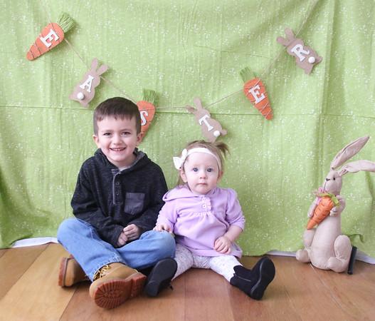 3-11-18 Preston and Jadynn Easter