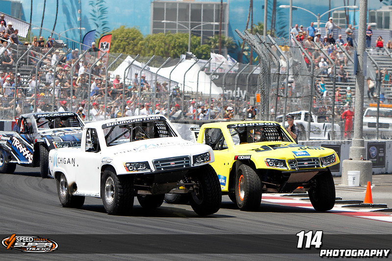 Round two of Robby Gordon's Stadium Super Truck Series at the  39th Annual Toyota Grand Prix of Long Beach in Long Beach, California on April 21, 2013.Chris Anderson/114photography