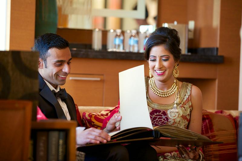 Le Cape Weddings - Indian Wedding - Day 4 - Megan and Karthik Exchanging Gifts 12.jpg