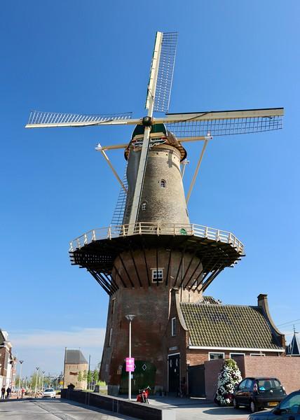 De Roos Windmill - Delft