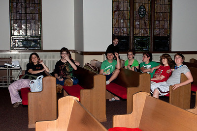 Youth Group Lock-in 2011